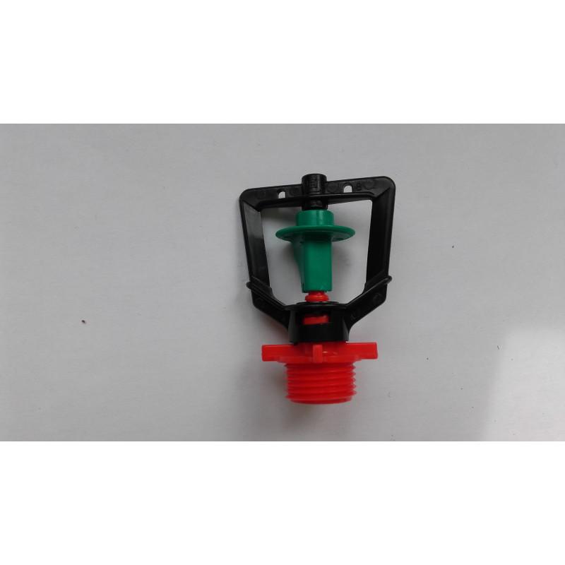 arroseur rondo RIVULIS buse rouge ailette verte 104l/h