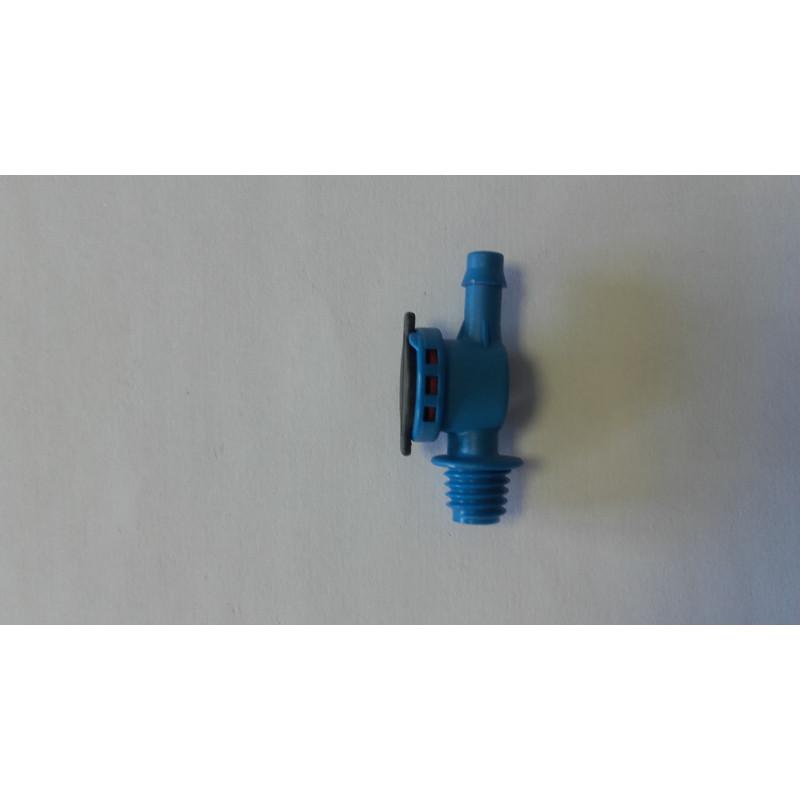 Anti goutte  TV 7mm x 3/8w  bleu haute pression