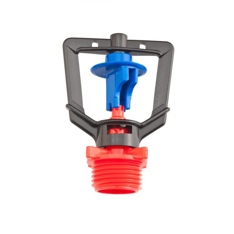 arroseur rondo RIVULIS buse rouge ailette bleue 104l/h