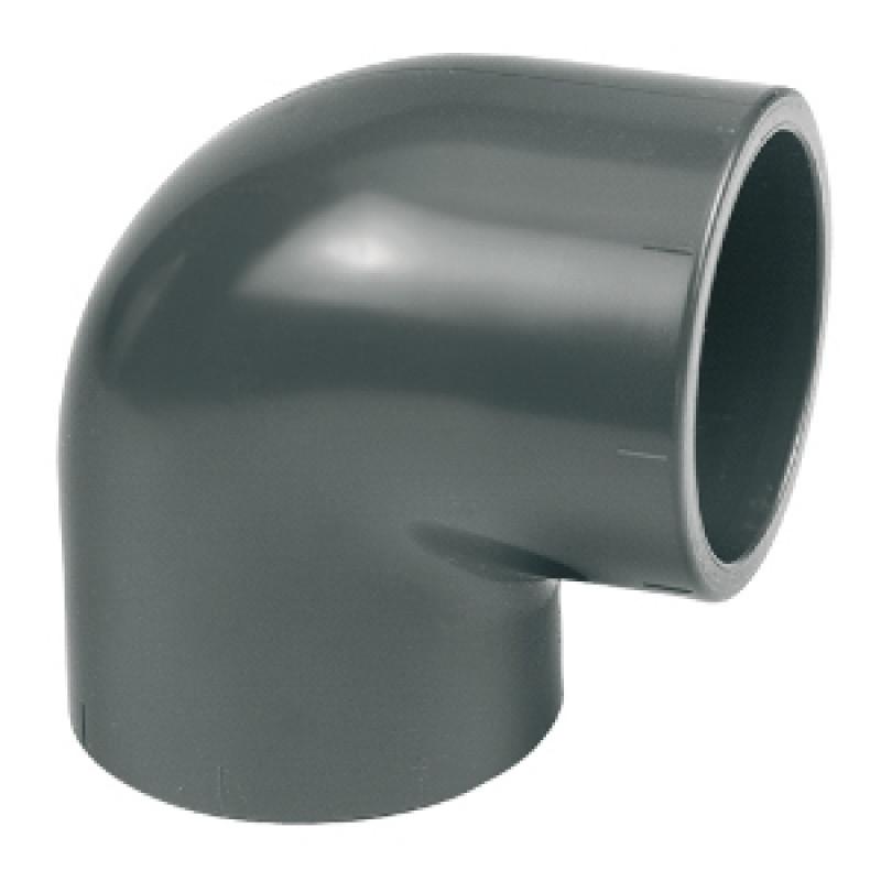 Coude pvc pression 125*125 90°
